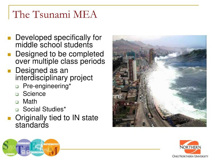The Tsunami MEA