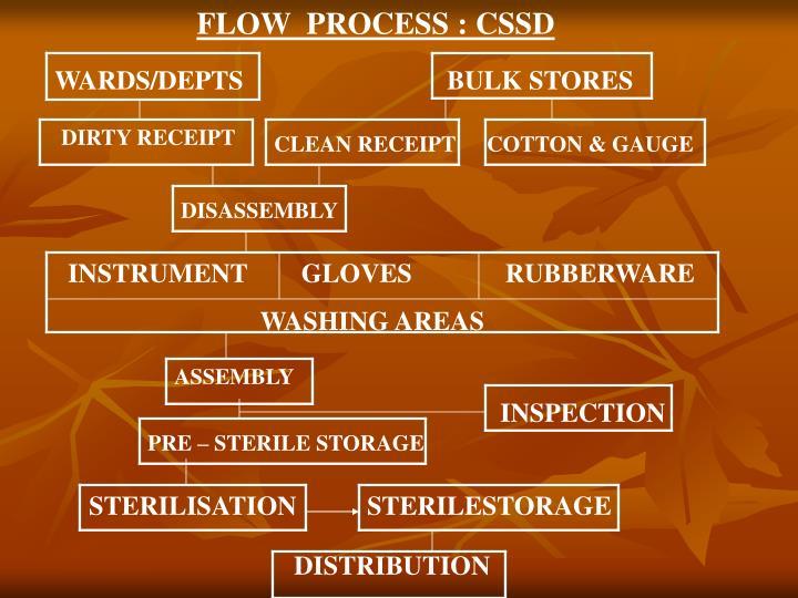 FLOW  PROCESS : CSSD