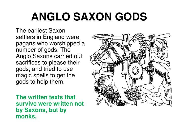 ANGLO SAXON GODS