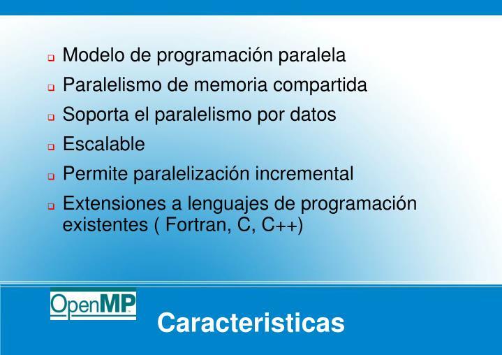 Modelo de programación paralela