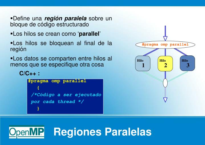 #pragma omp parallel