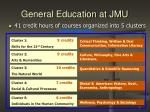 general education at jmu