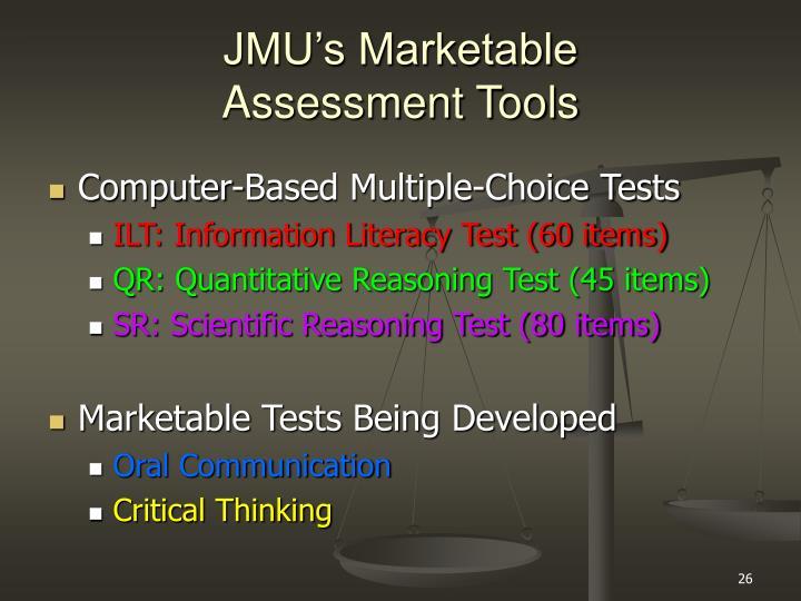 JMU's Marketable