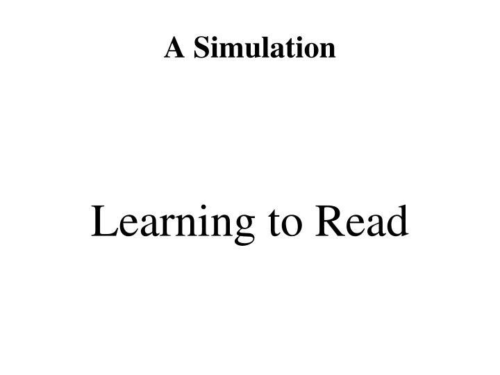 A Simulation