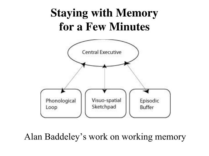 Staying with Memory