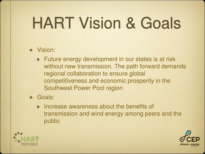 HART Vision & Goals