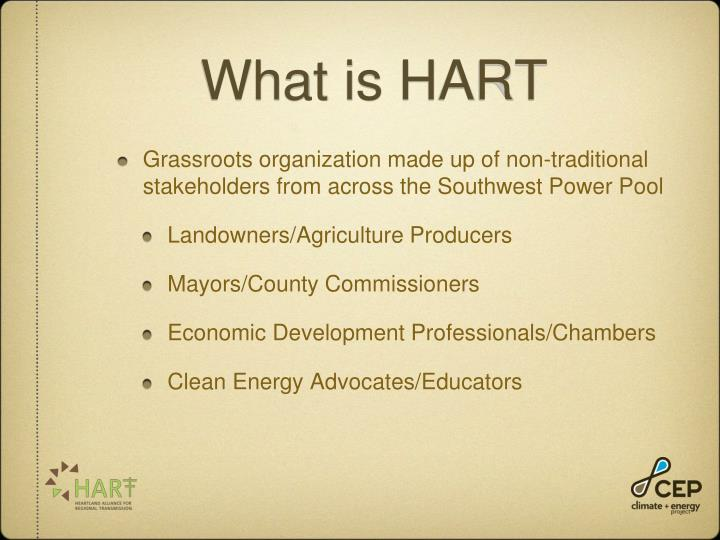 What is HART