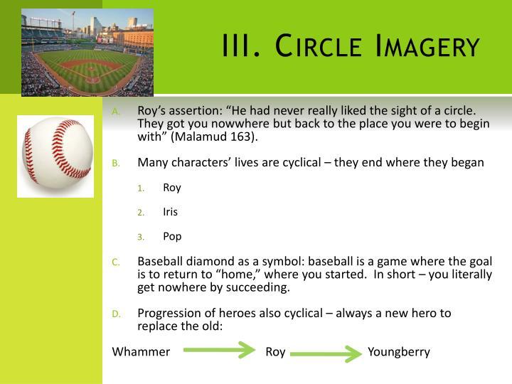 III. Circle Imagery