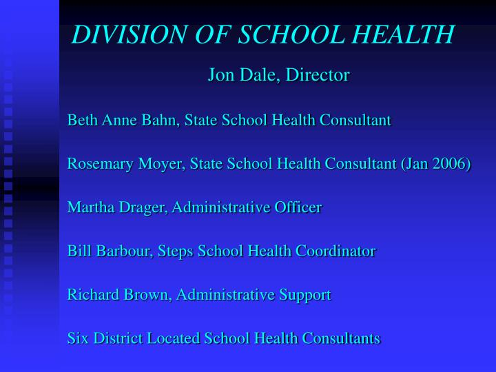 Division of school health