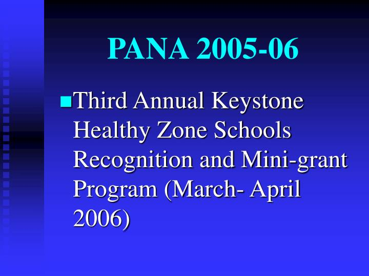PANA 2005-06