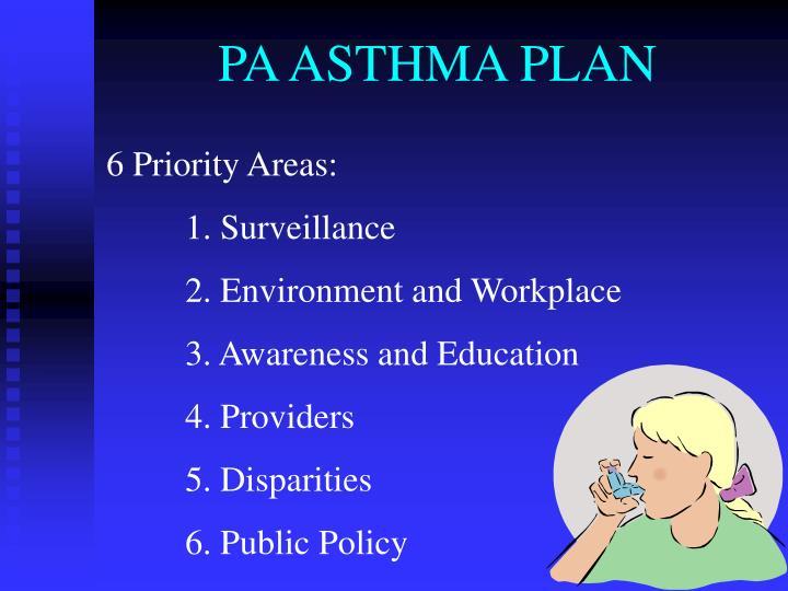 PA ASTHMA PLAN