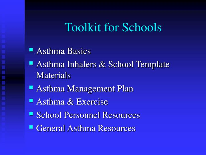 Toolkit for Schools