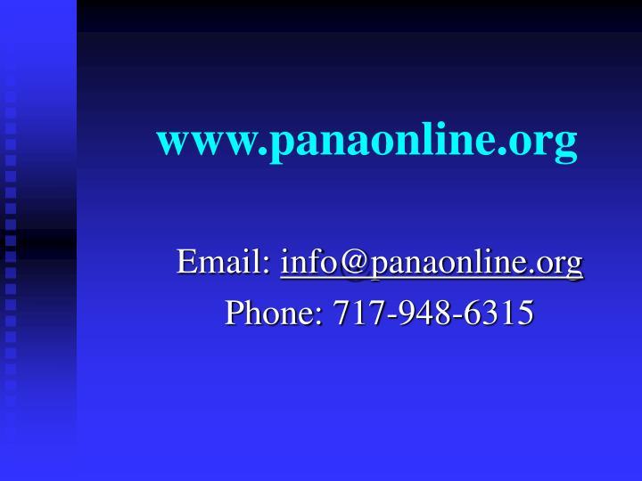 www.panaonline.org