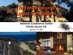 2nd international lygus symposium