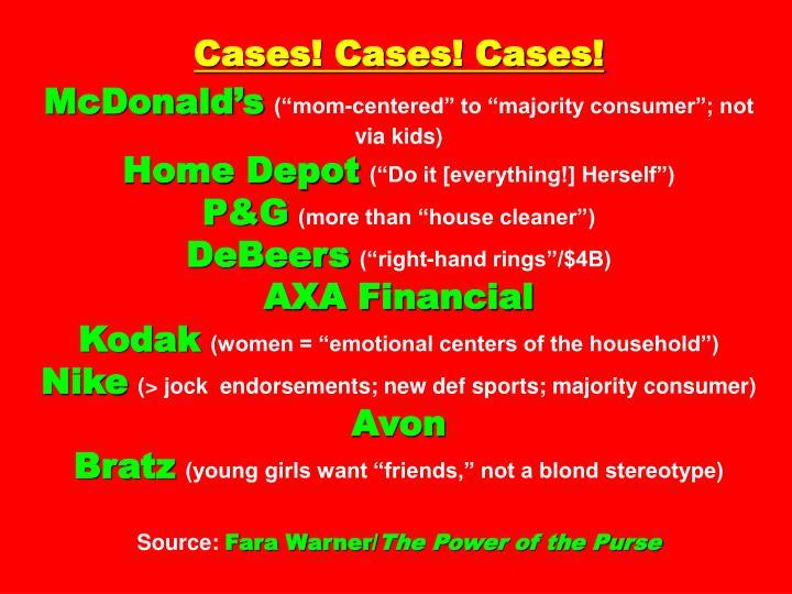 Cases! Cases! Cases!