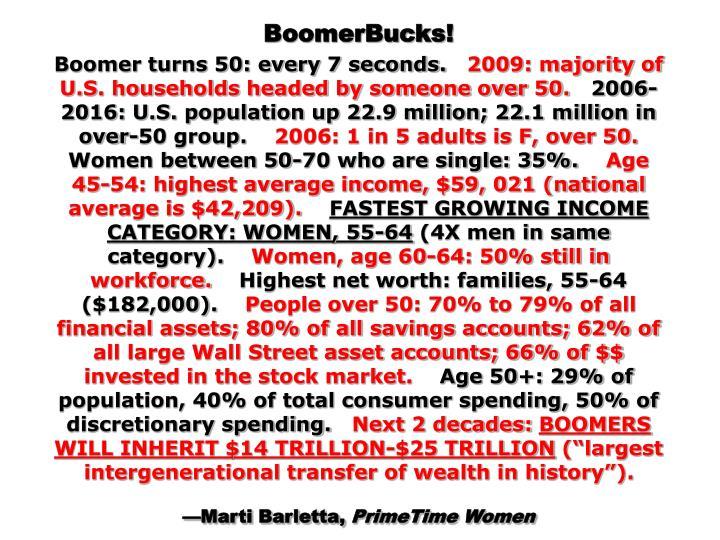 BoomerBucks!