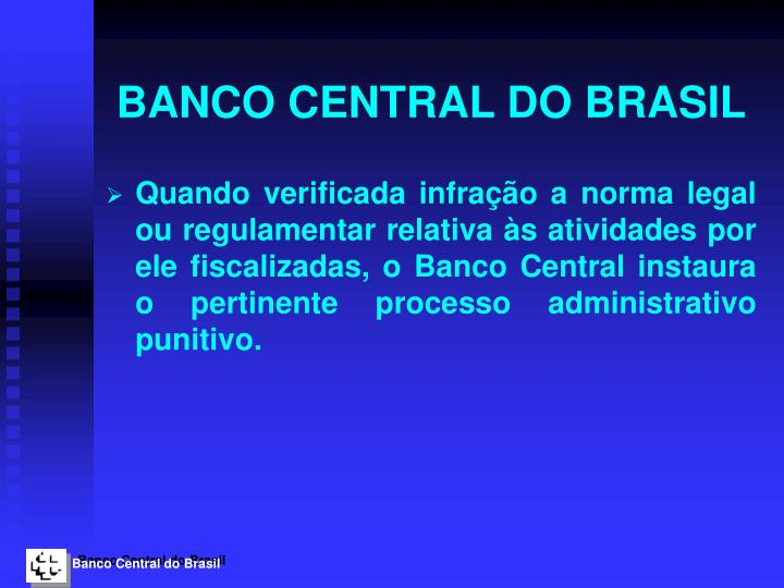 Banco central do brasil1
