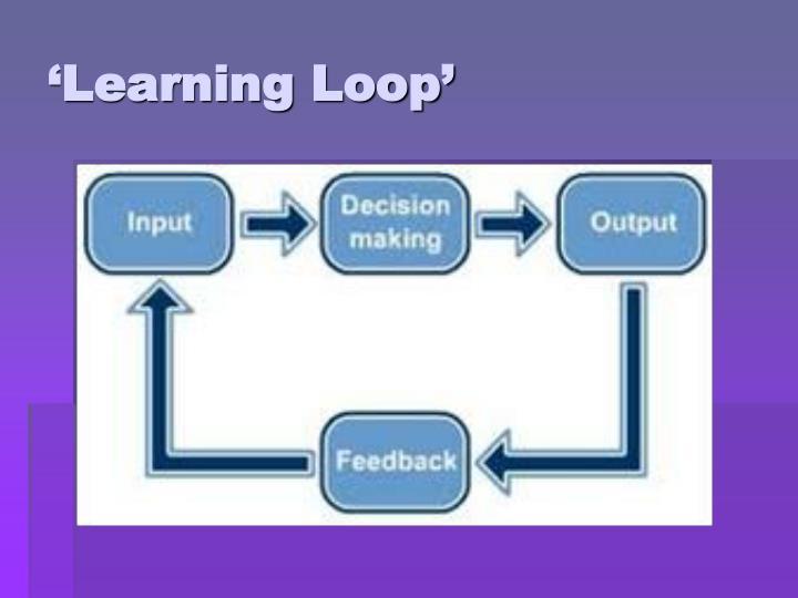 'Learning Loop'
