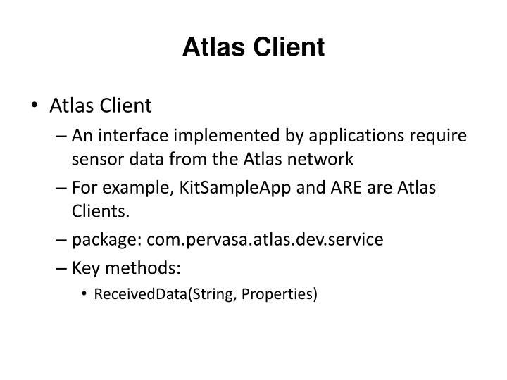 Atlas Client