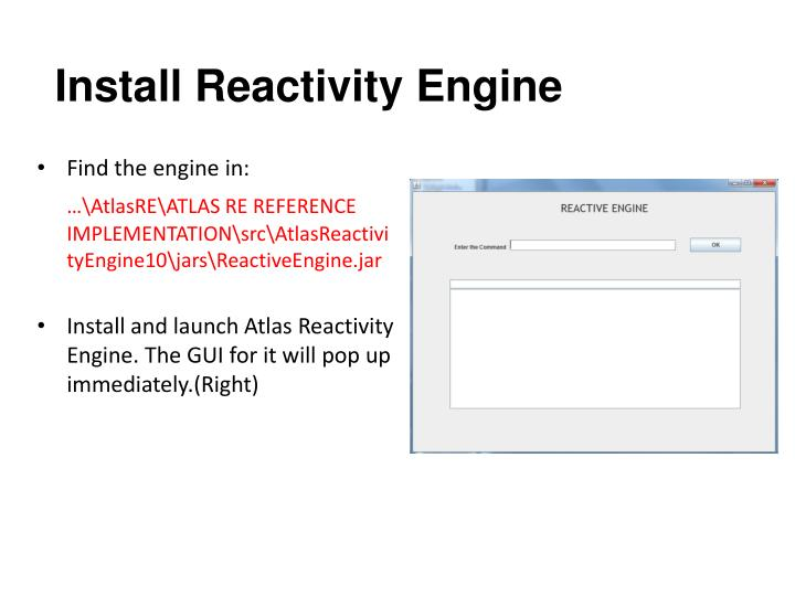 Install Reactivity Engine