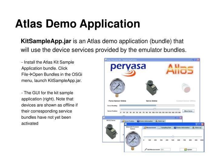Atlas Demo Application
