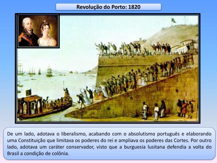 Revolução do Porto: 1820