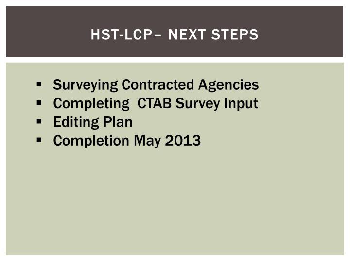 HST-LCP–