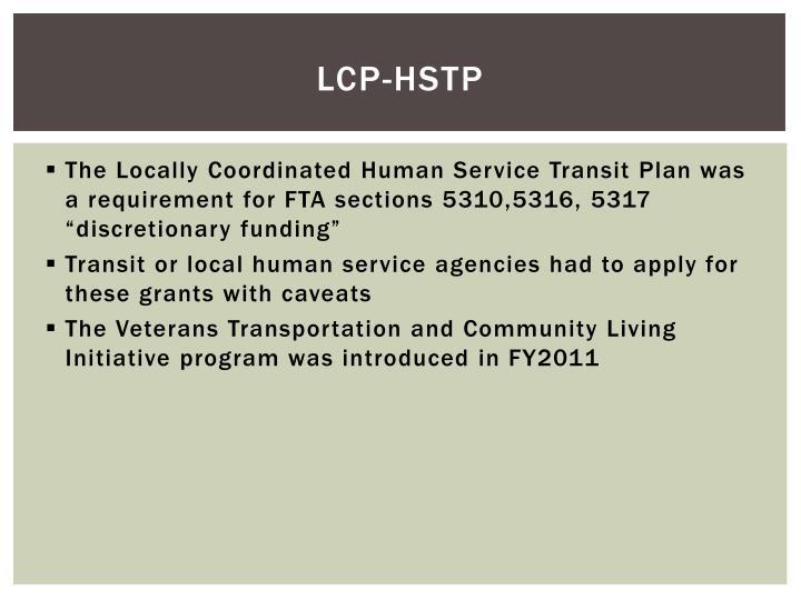 LCP-HSTP