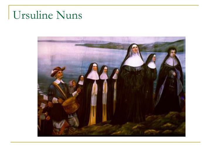 Ursuline Nuns