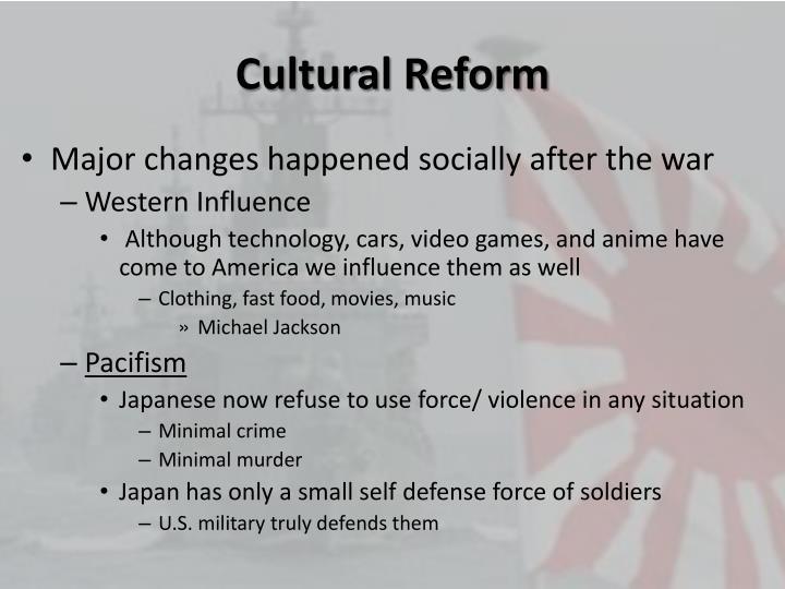 Cultural Reform