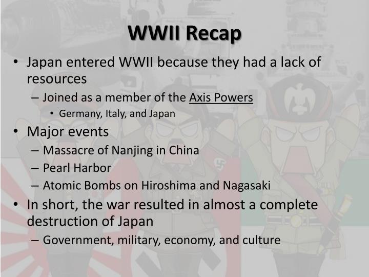 WWII Recap