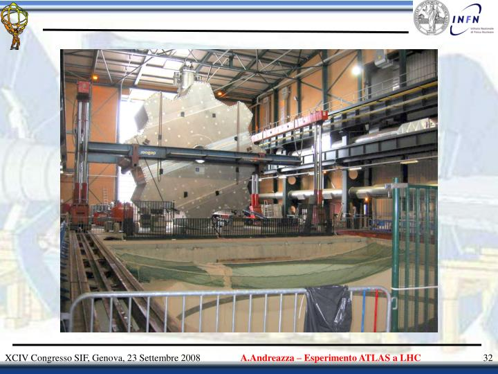 A.Andreazza – Esperimento ATLAS a LHC
