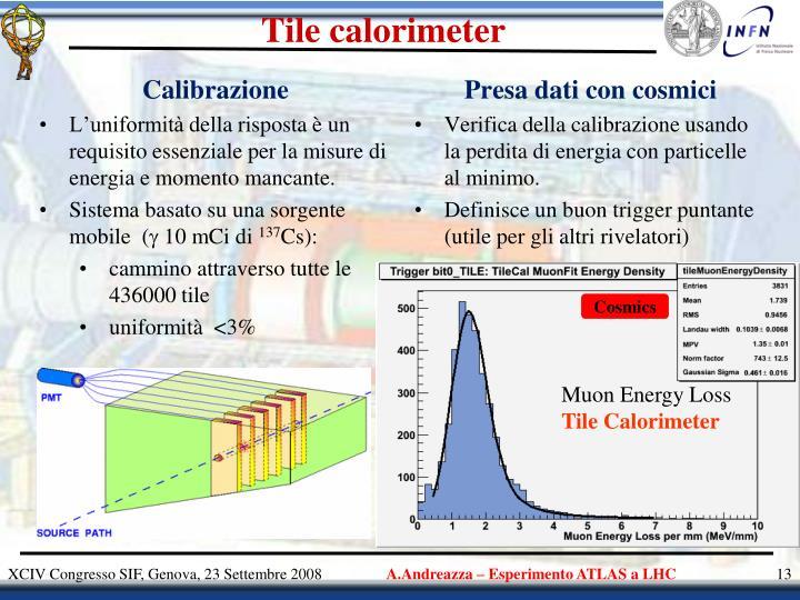 Tile calorimeter