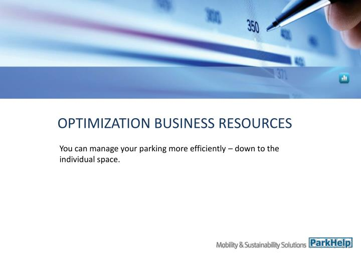 OPTIMIZATION BUSINESS RESOURCES