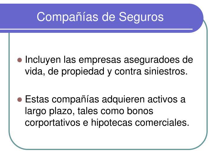 Compañías de Seguros