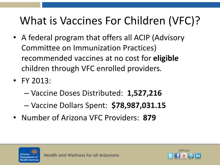 What is Vaccines For Children (VFC)?