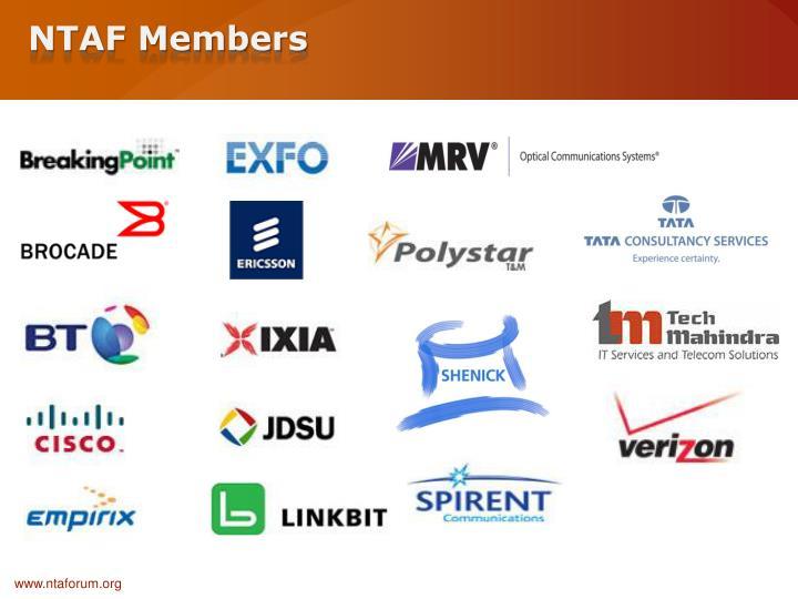 NTAF Members