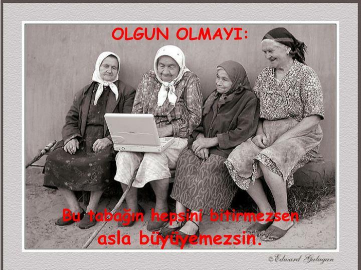 OLGUN OLMAYI: