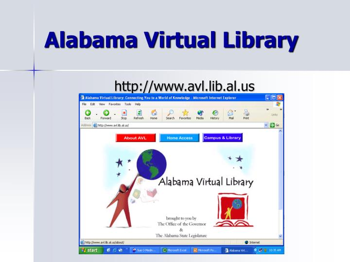 Alabama virtual library1