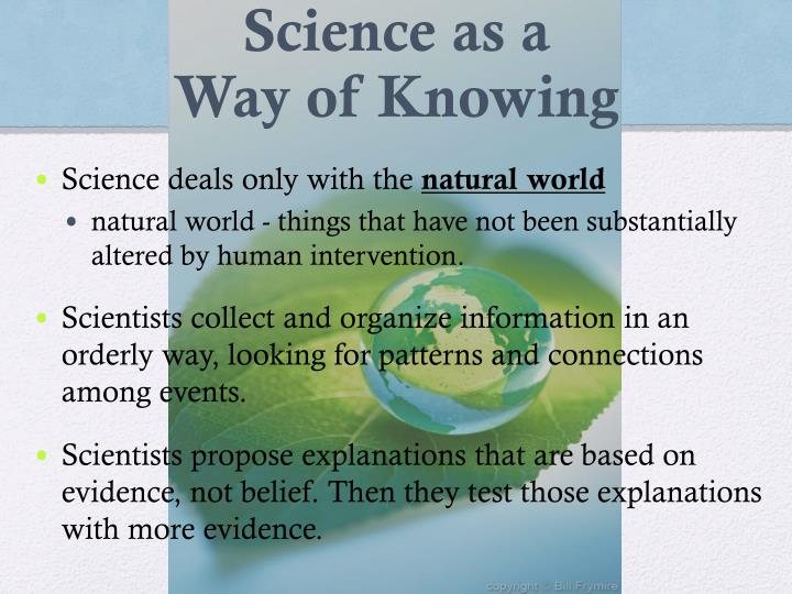 Science as a