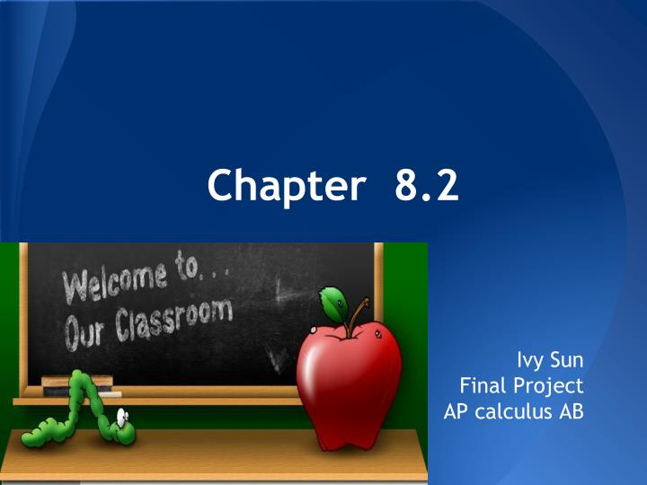 Chapter  8.2