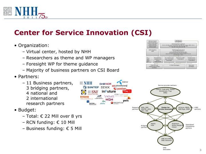 Center for Service