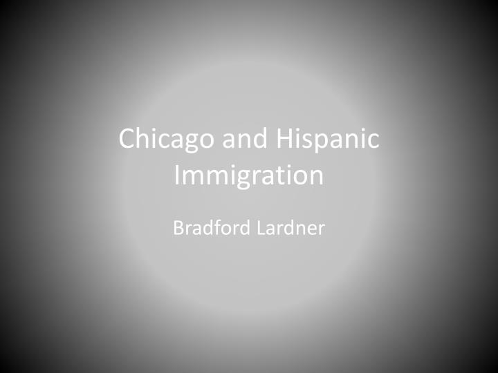 chicago and hispanic immigration