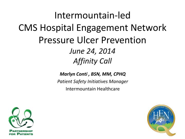 Intermountain-led