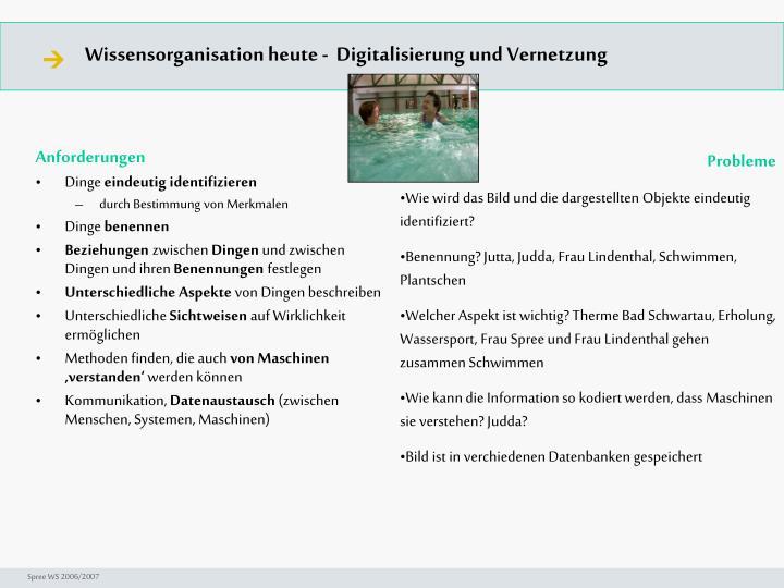 Seminar I-Prax: Inhaltserschließung visueller Medien, 5.10.2004