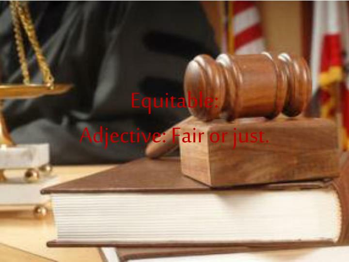 Equitable: