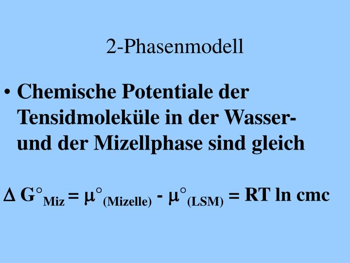 2-Phasenmodell