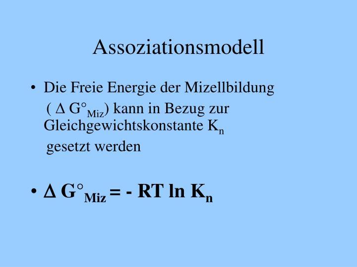 Assoziationsmodell