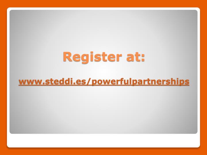 Register at: