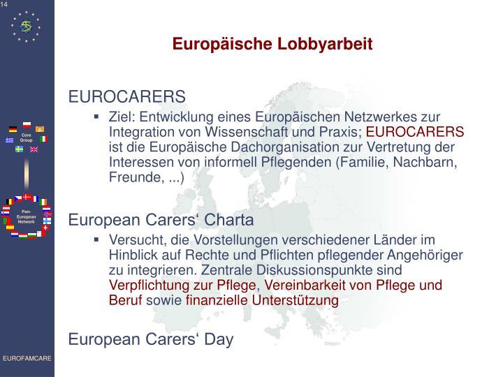 Europäische Lobbyarbeit
